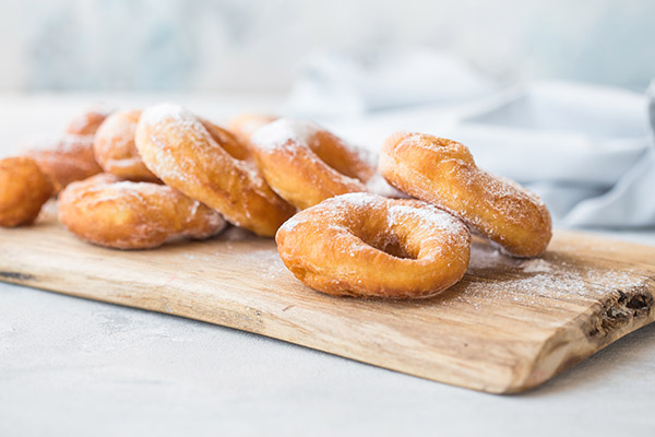 homemade donuts in air fryer