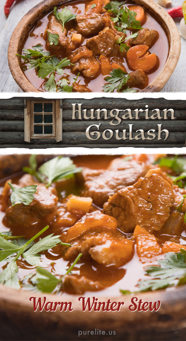 Hungarian Goulash There\'s nothing like a hot bowl of hungarian goulash to warm you up after coming in from the cold. Not only is this traditional Hungarian recipe a comfort food for frost bitten and hungry travelers, it is also a perfect dinner idea for your next meal. #dinnerideas #dinnerrecipes #deliciousrecipes #homecookedmeals #cookingrecipesrepost #easyrecipes #homemadefood #cookingrecipesrepost #cookingrecipes #homechef #homechefs #mommychef #cookingdinner #ideasfordinner #mealtime