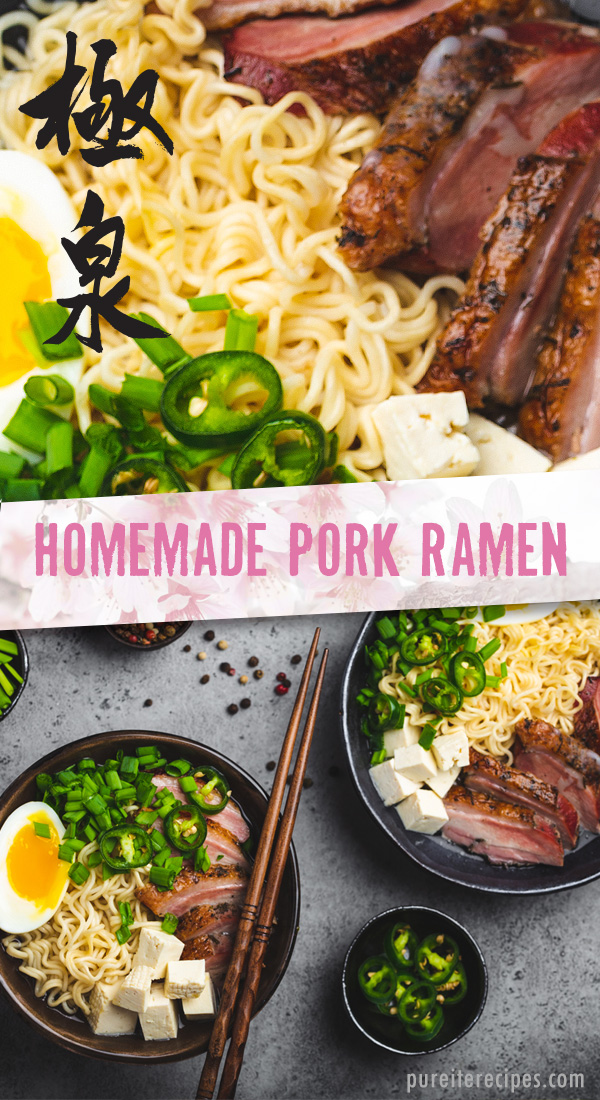 Homemade Pork Ramen