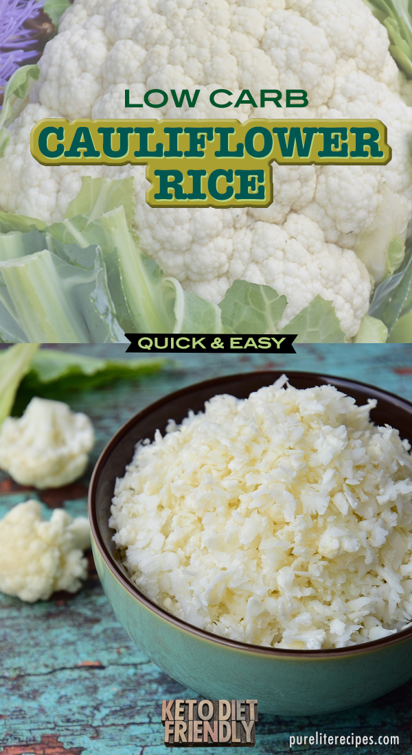 KETO Cauliflower Rice